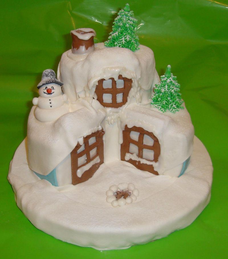 Торт сказочный домик фото