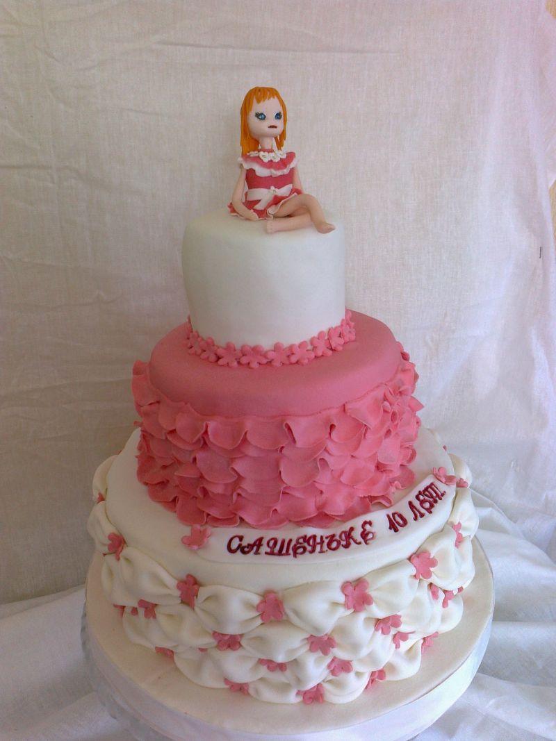 Торт для девочки белгородский торт