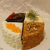 """торт """"4 вкуса"""""""