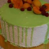 глазурь и фрукты